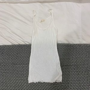 Zara Basic White Tank
